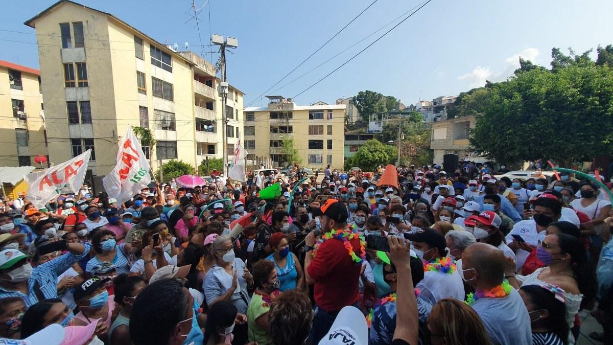 Acapulqueños retacarán las urnas por Ricardo Taja; aventaja en todos los 7 distritos 3