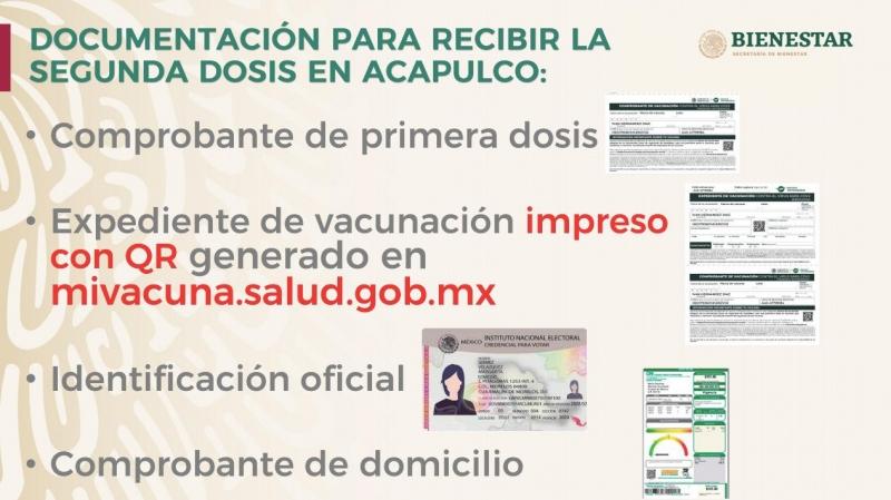 Este martes aplicarán la segunda dosis a adultos de 50 a 59 años en Acapulco 4