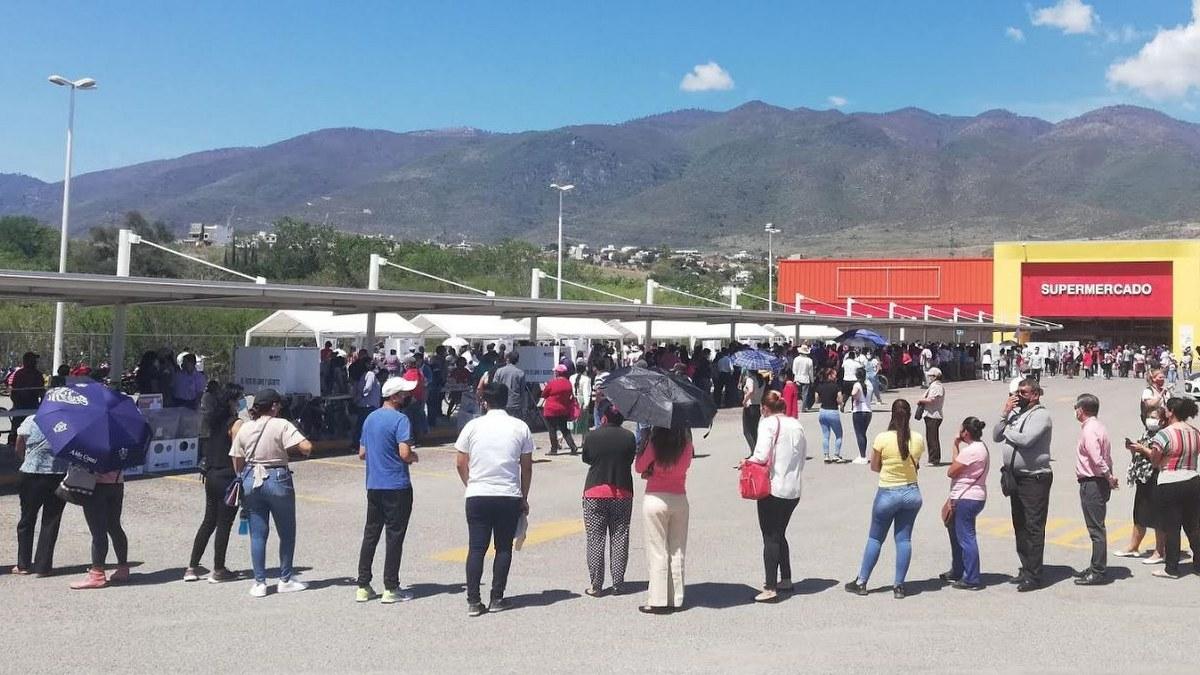 Con largas filas y aglomeraciones transcurren las elecciones en Chilpancingo 2