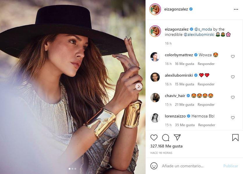 Eiza González da clases de estilo con sexy sesión de FOTOS 1