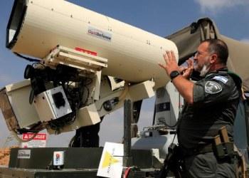 Israel pone a prueba nueva arma láser para derribar drones 1