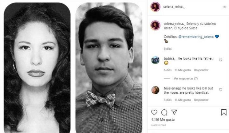 Selena reencarnó en el hijo de Suzette Quintanilla, ¡idénticos! 1