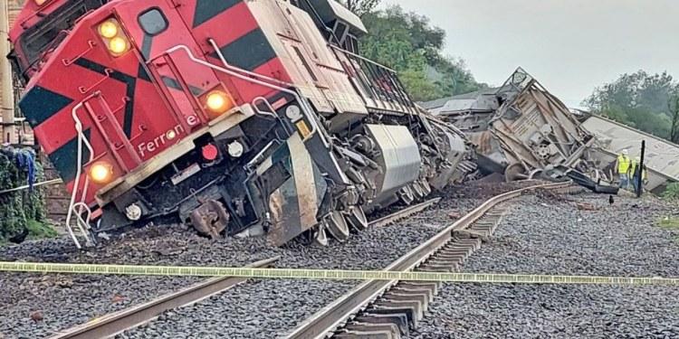 Descarrila tren en Tala, Jalisco; hay un muerto y tres lesionados 1