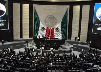 Homenaje luctuoso al diputado René Juárez, coordinador del Grupo Parlamentario PRI 3
