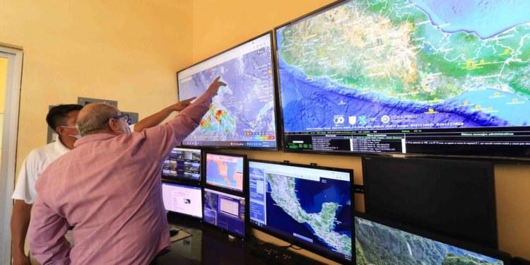 Lluvias de moderadas a intensas prevén para las próximas horas en Acapulco 1