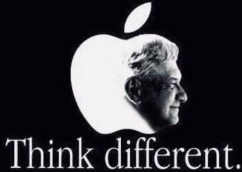 Morena 'piratea' imagen de Apple para promocionar el cambio verdadero de AMLO 7