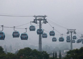 CDMX estrena Cablebús, un teleférico que conectará Cuautepec con Indios Verdes 4