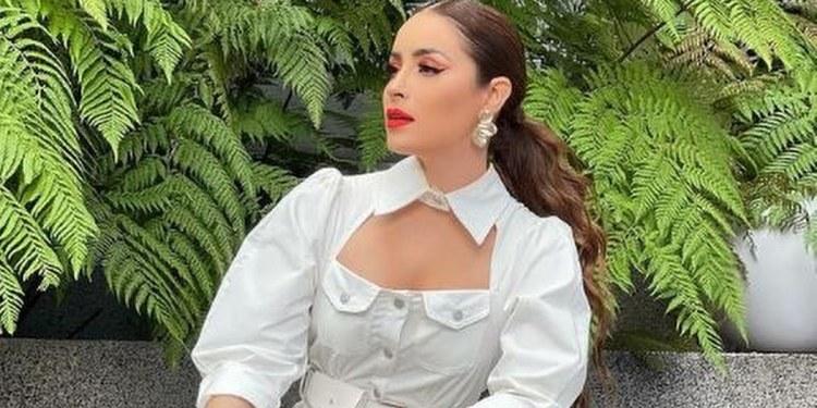 Cynthia Rodríguez impacta con outfit transparente   FOTO 1