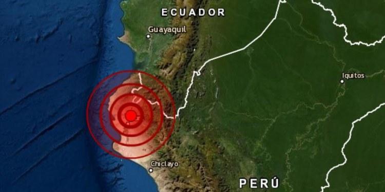 Sismo de magnitud 6.1 sacude norte de Perú 1