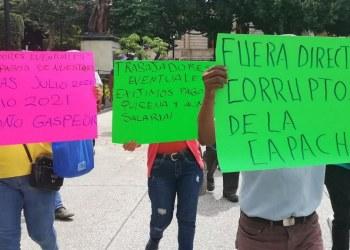 Chilpancingo: marchan empleados de la Capach por falta de pagos 4