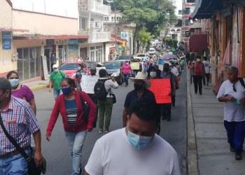 Empleados de la Capach continúan en protesta ante indiferencia de Toño Gaspar 4