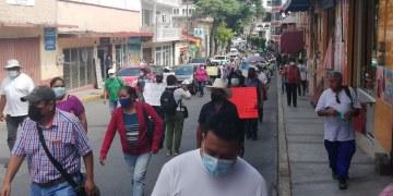 Empleados de la Capach continúan en protesta ante indiferencia de Toño Gaspar 8