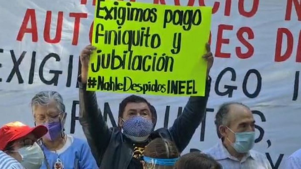 Morelos: protestan extrabajadores del INEEL por despido injustificado 2