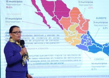 Delincuencia organizada bajó 11.4%; Acapulco, municipio violento: SSPC 9