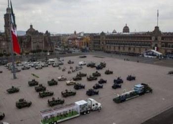 Sedena se alista para desfile militar del próximo 16 de septiembre 8