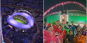 Qatar 2022: Estadio Internacional Khalifa se ilumina para celebrar fiesta patria mexicana 3