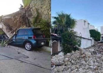 Casa de la actriz Sylvia Pasquel en Acapulco sufrió severos daños por sismo de 7.1 7
