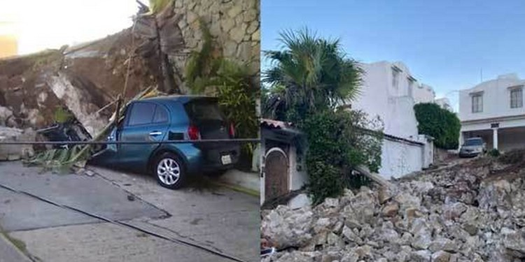 Casa de la actriz Sylvia Pasquel en Acapulco sufrió severos daños por sismo de 7.1 3