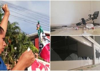Vandalismo no genera empatía; presentan denuncias por daños a oficinas del PRD-Guerrero 8