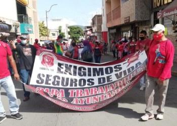 """Empleados del Ayuntamiento exigen pagos a """"Toño"""" Gaspar 4"""