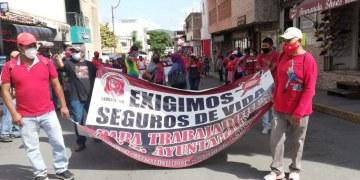 """Empleados del Ayuntamiento exigen pagos a """"Toño"""" Gaspar 8"""
