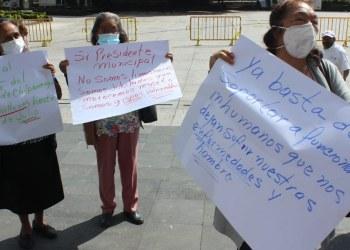 Chilpancingo:Jubilados exigen a Toño Gaspar pague las cuotas obrero-patronales al ISSSPEG 8