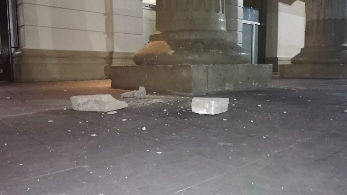 Sismo de 7.1 causa daños a casas, negocios y edificios públicos en Chilpancingo 3