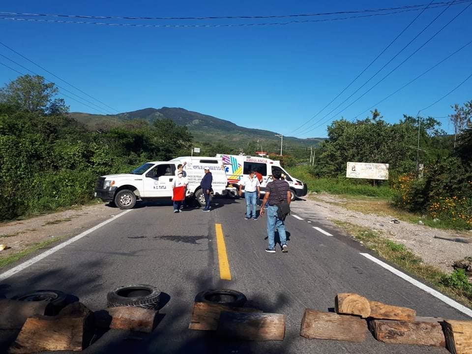 Trabajadores de Salud en Chilpancingo se suman al caos, exigen el pago del Fegac 1