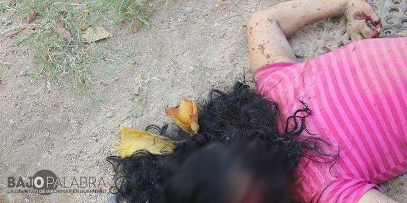 Matan a mujer en la Zapata de Acapulco; le desfiguran el rostro
