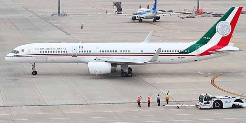 Empresario estadounidense no compró el avión presidencial, aclaran