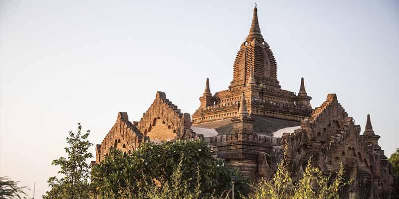 Bagan, la ciudad de los templos de oro en Myanmar