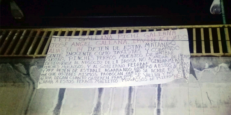 Acusa manta a federales de nexos con grupo criminal en Acapulco