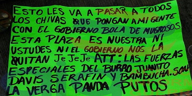 Matan a un hombre en Acapulco; dejan mensaje de amenaza