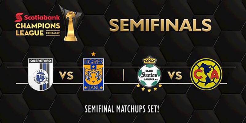 Definen fechas de semifinales y final de Concachampions