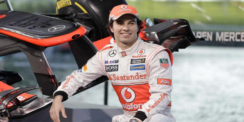 Checo Pérez es octavo sitio con 128 vueltas en Barcelona