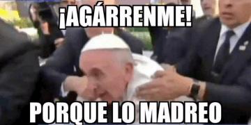 El Papa Francisco se enoja en Morelia