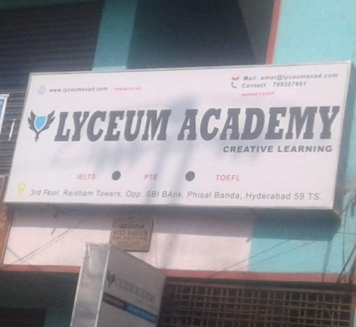 Lyceum academy creative learning of IELTS PTE and Toefl