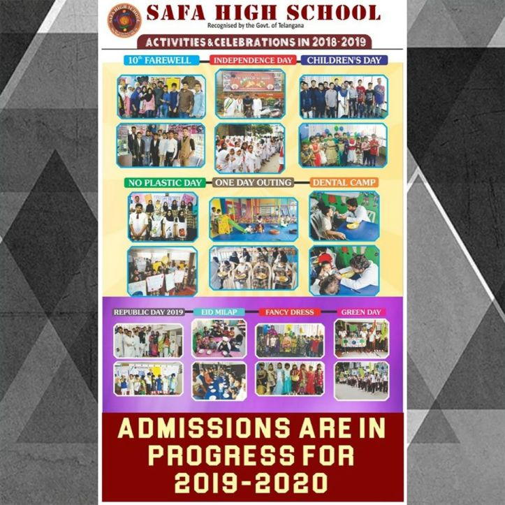 Safa High School Vijay Nagar Colony Hyderabad Schools Bajrai Online