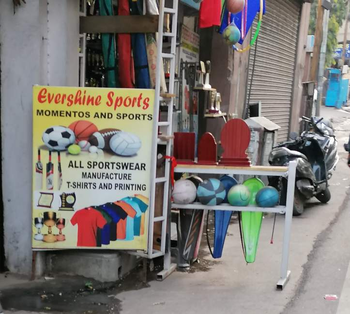 Evershine Sports abids hyderabad sports