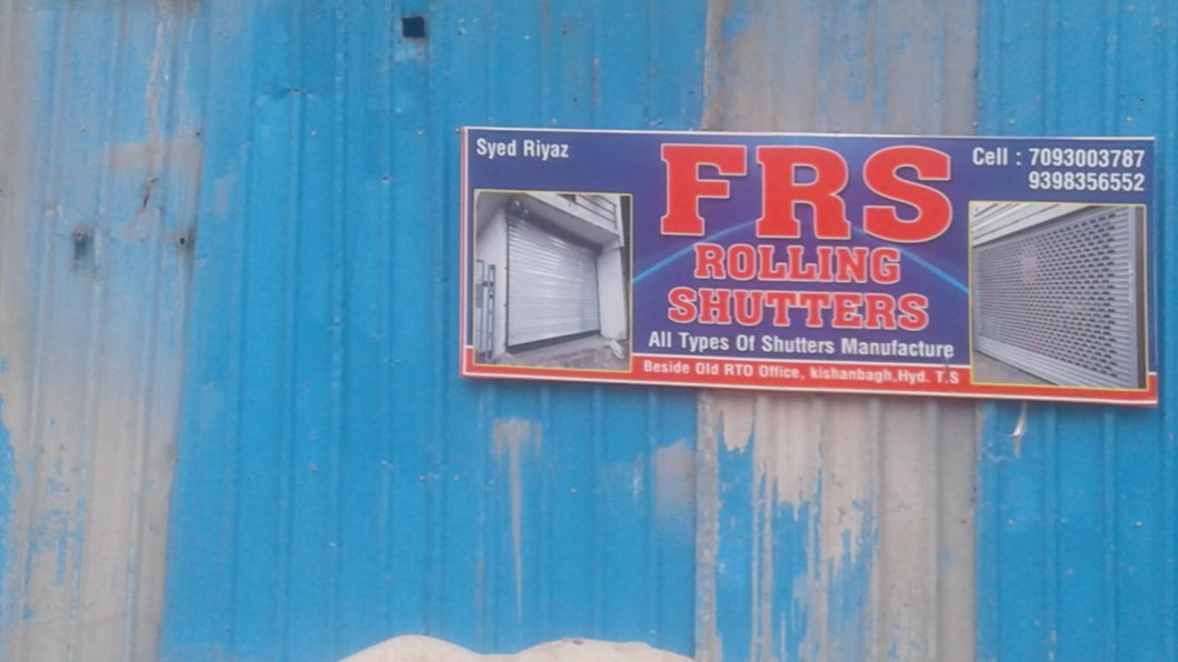FRS Rolling Shutters Hyderabad