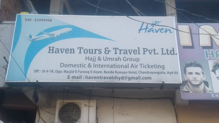 Haven Tours & Travel Pvt. Ltd. Chandrayangutta Hyderabad Tours and Travels