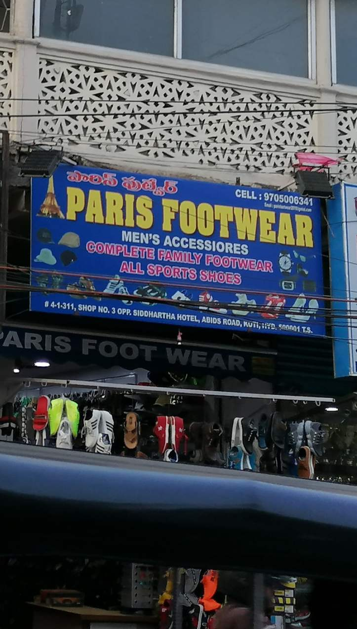 Paris Footwear abids sports shoes available