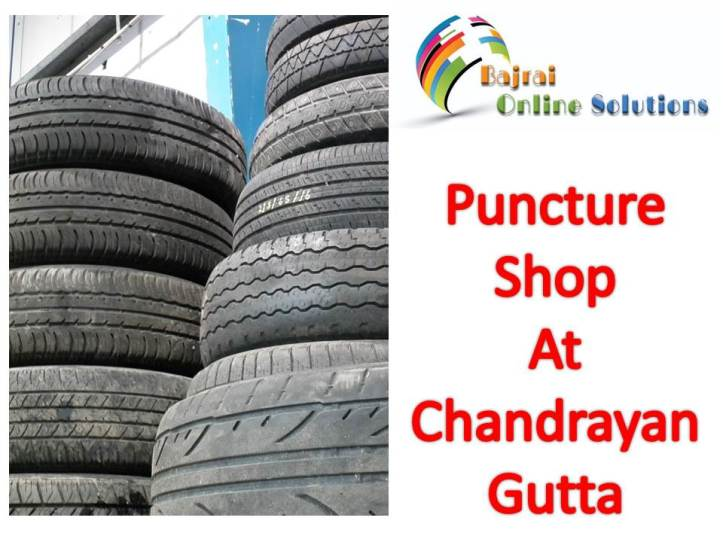 Puncture shop near chandrayangutta flyover 4 Hyderabad puncture shops
