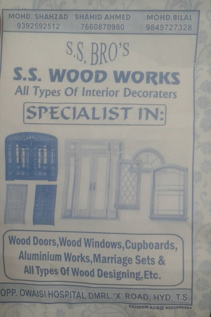 SS Wood works near OWAISI hospital