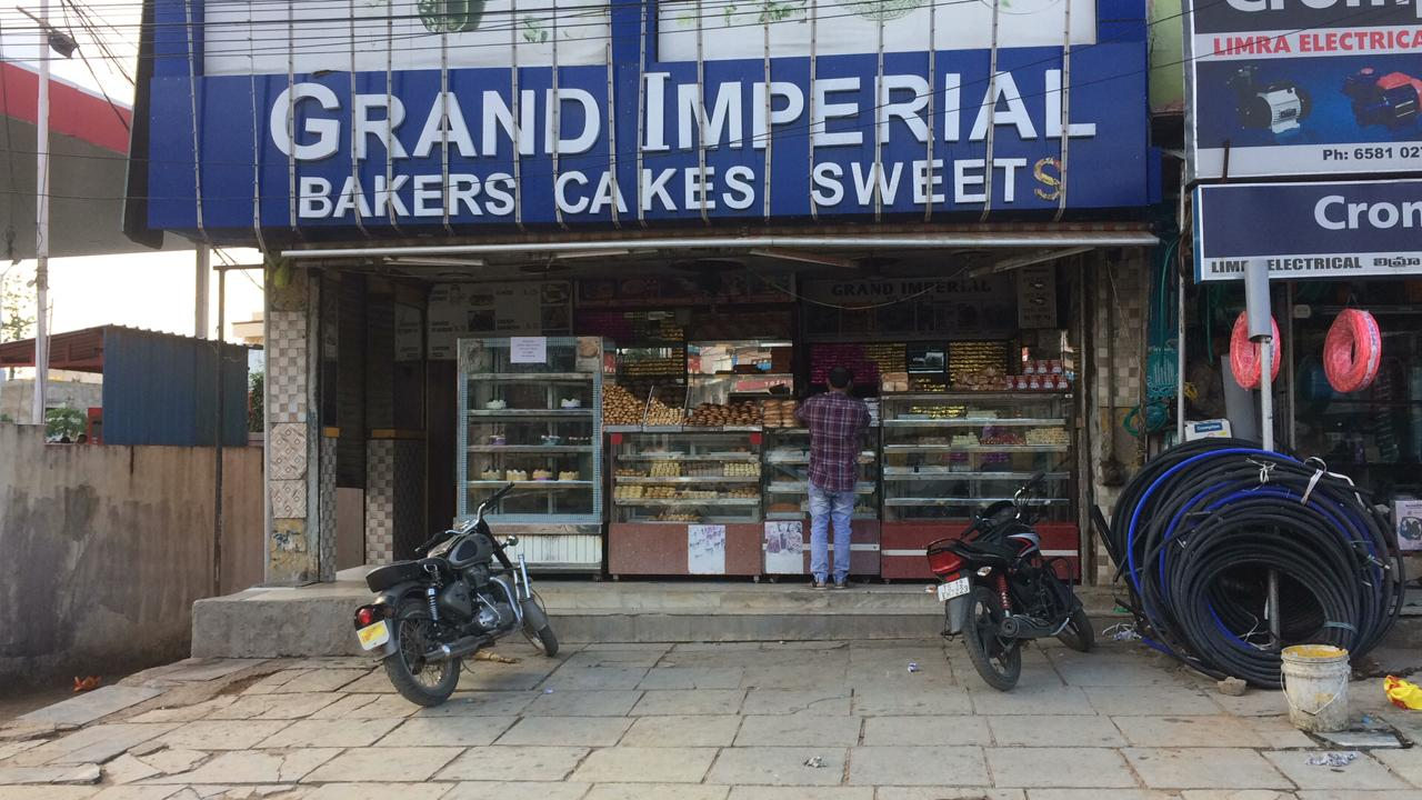Grand Imperial Sweets Chandrayangutta Hyderabad Bakers