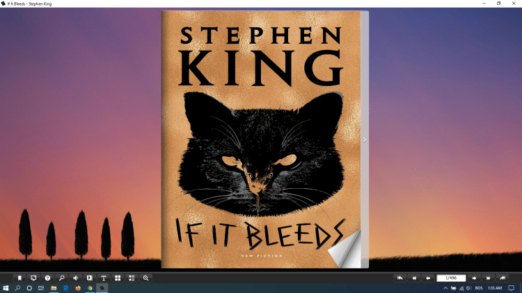 stephen king if it bleeds flip version 1