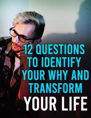 12 questions to identify your why book