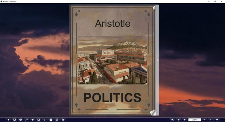 politics pdf artistotle
