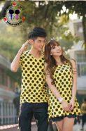 Dress Onde Kuning