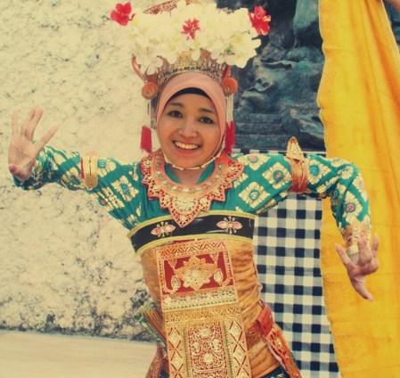 I'm a bali dancer